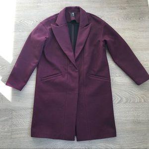 LIKE NEW! TITIKA Plum Blazer / Suit Jacket